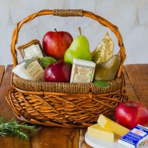 The Fruit Company's Artisan fruit and cheese basket