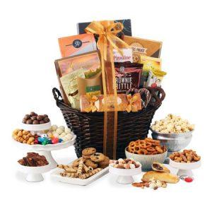Broadway Basketeers healthy gift basket