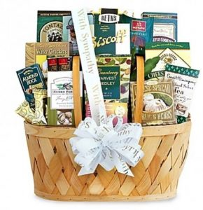 California Delicious Gift Basket: Heartfelt Thoughts