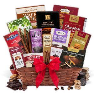 Chocolate Gift Basket Classic by GourmetGiftBaskets.com
