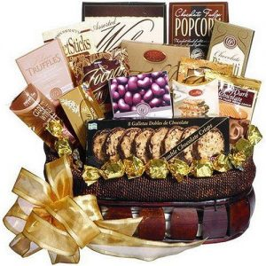 Chocolate Treasures Gourmet Food Gift Basket by Art of Appreciation Gift Baskets