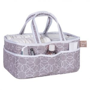 Diaper caddy XL baby shower gift basket