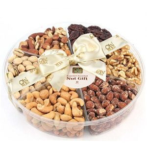 Freshly Roasted 6 Mixed jumbo Food Nuts Gift Basket