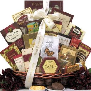 Great Arrivals Sympathy Gift Basket: Our Sincere Condolences