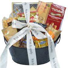 Nikki's Gift Baskets: With Sincere Sympathy Condolence