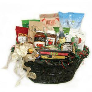 Organic snack attack health basket
