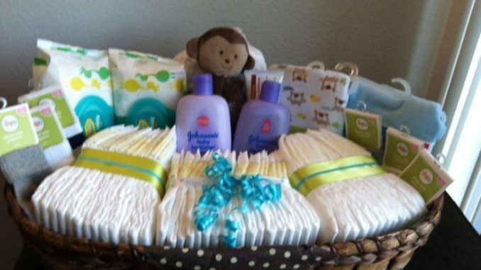 What To Put In A Gift Basket For A Baby Shower A Basket Wrap