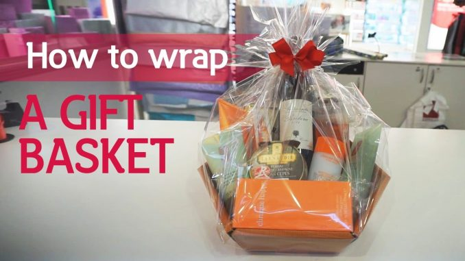 How to Wrap a Gift Basket Without Cellophane
