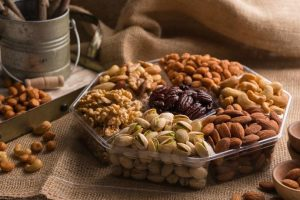 Nut Cravings- Gourmet Nut Gift Basket