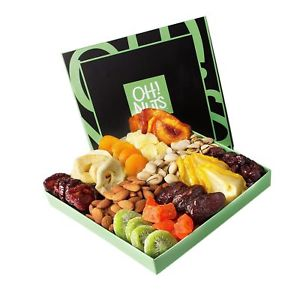 Oh Nuts- Nut and dried fruit gift basket
