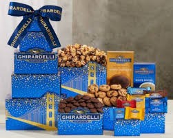Wine Country Gift Baskets- the Ghirardelli Tower